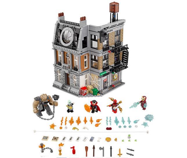 Dettagli del set LEGO La resa dei conti al Sanctum Sanctorum