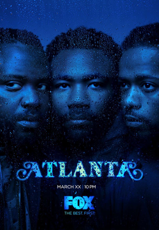 Il poster ufficiale della seconda stagione di Atlanta
