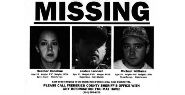 I tre ragazzi scomparsi di The Blair Witch Project in un finto annuncio del 1999