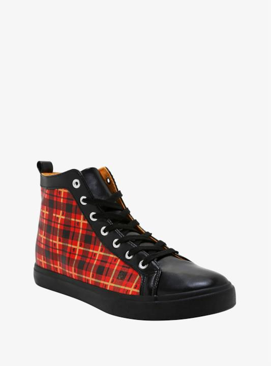 Le scarpe a tema Grifondoro