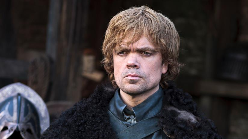 Peter Dinklage nei panni di Tyrion Lannister in Game of Thrones