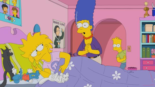 Marge cerca di rincuorare Lisa sul suo futuro