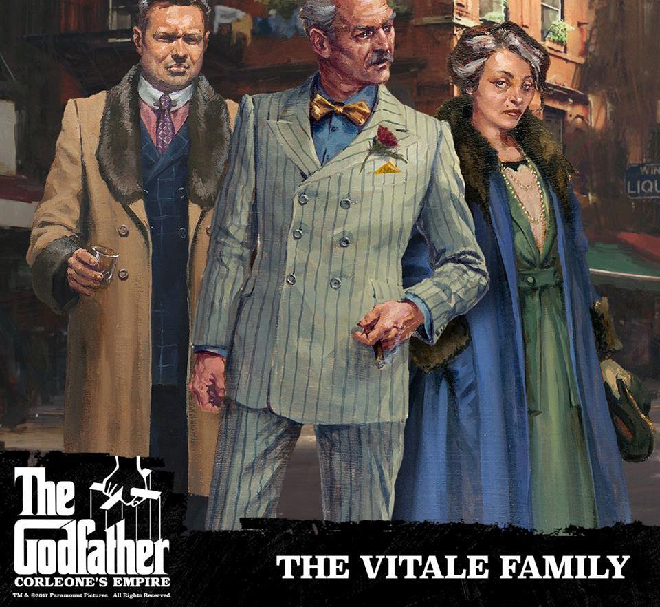 La famiglia Vitale nel disegno di Karl Kopinski