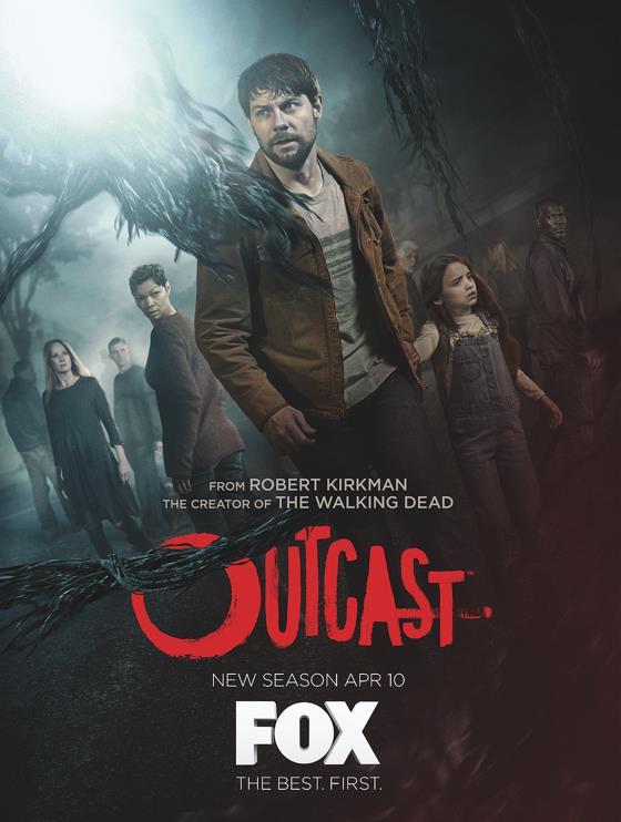 La locandina della seconda stagione di Outcast