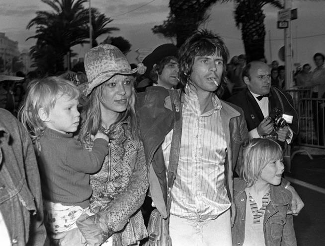 Keith e Anita e la loro famiglia