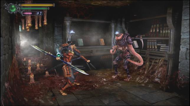 Un'immagine di gioco al ritorno di Onimusha: Warlords