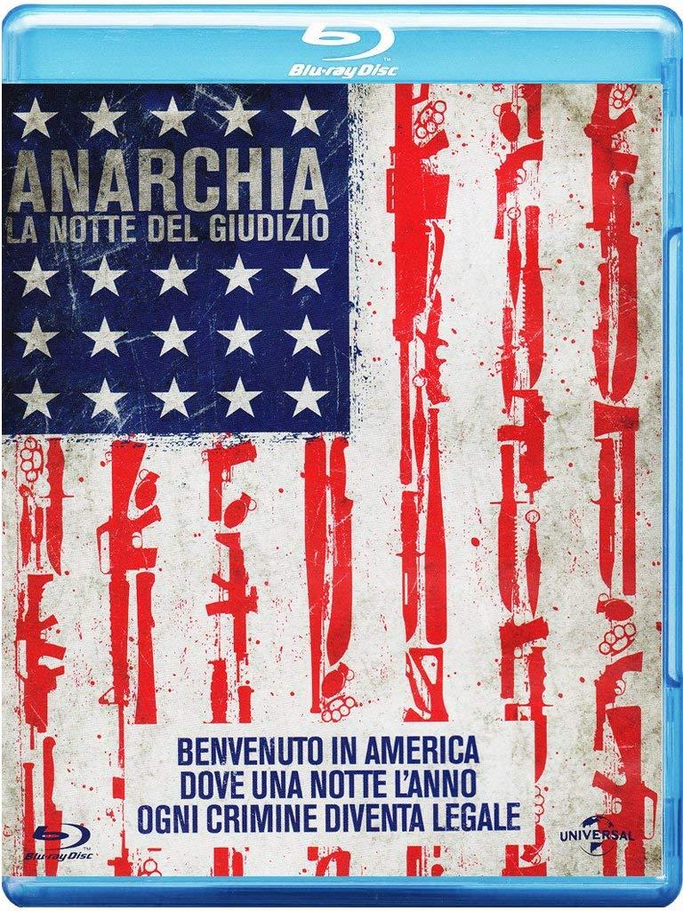 Anarchia - La notte del giudizio, l'edizione Blu-Ray