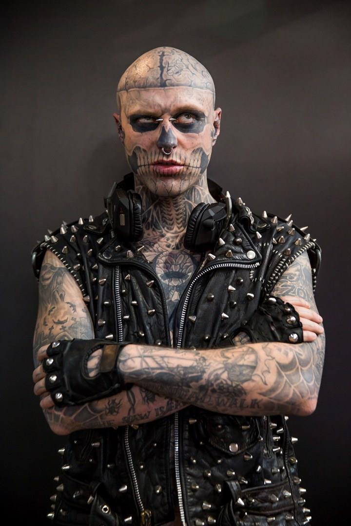 Rick Genest al Great British Tattoo Show