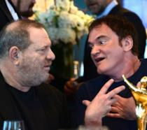 Quentin Tarantino e Harvey Weinstein