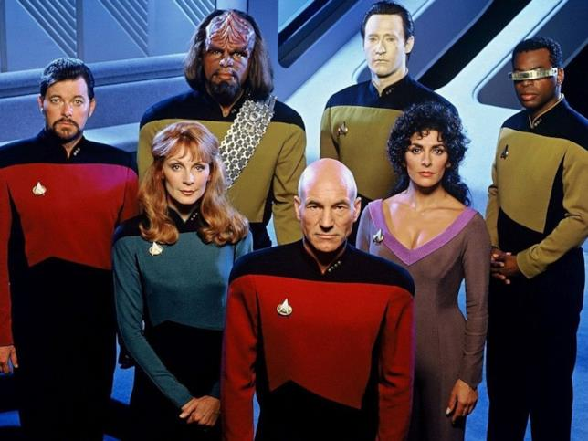 Star Trek: The Next Generation, il cast