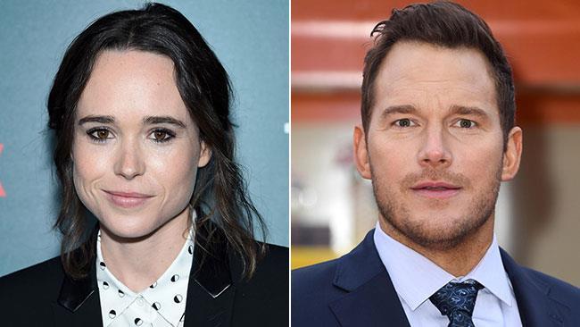 Ellen Page e Chris Pratt a eventi ufficiali
