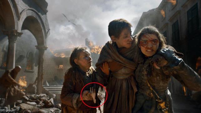 Game of Thrones 8x05: Arya prova a salvare dei civili