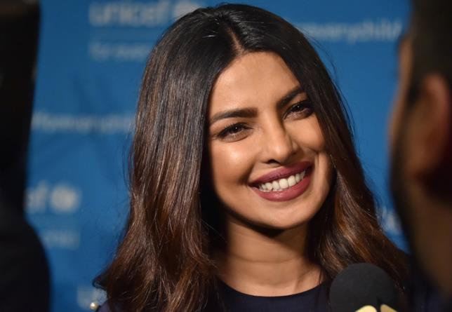 Primo piano di una bellissima Priyanka Chopra