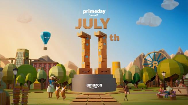 Il banner ufficiale dell'Amazon Prime Day 2017