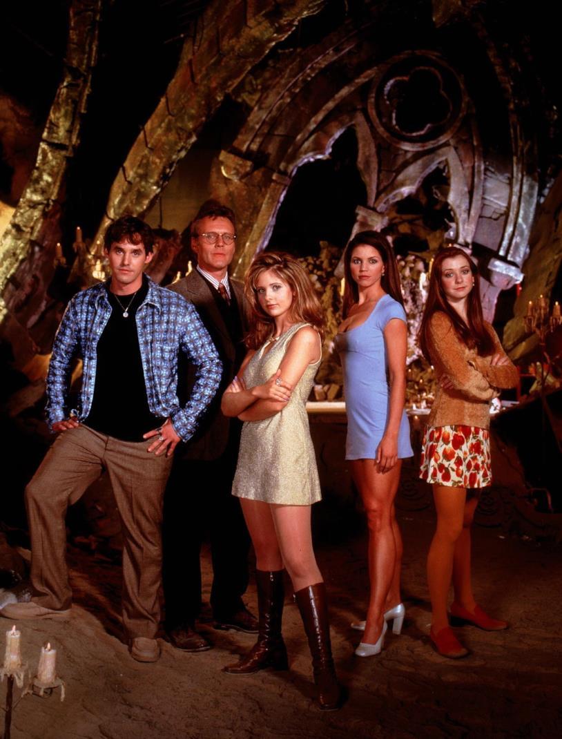 Buffy: una foto del cast della prima stagione
