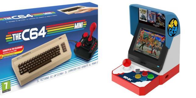 Neo Geo Mini e Commodore 64 Mini in offerta su Amazon