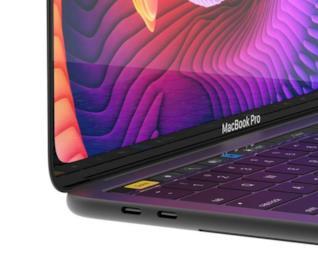 Concept del MacBook Pro da 16 pollici