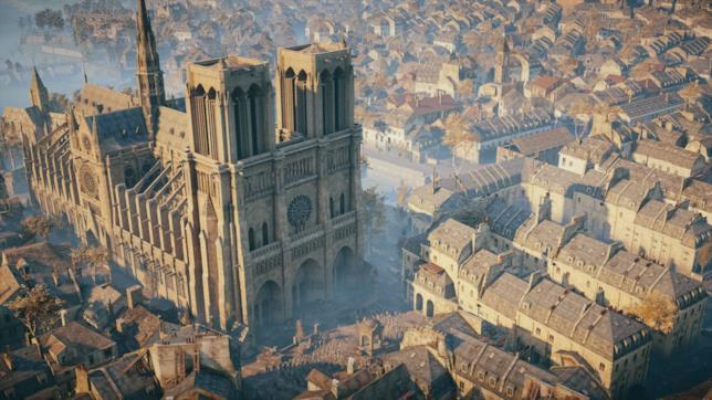 Modello di Notre Dame in AC Unity