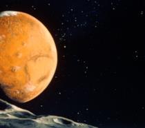 Marte visto da circa 20.000 km di distanza