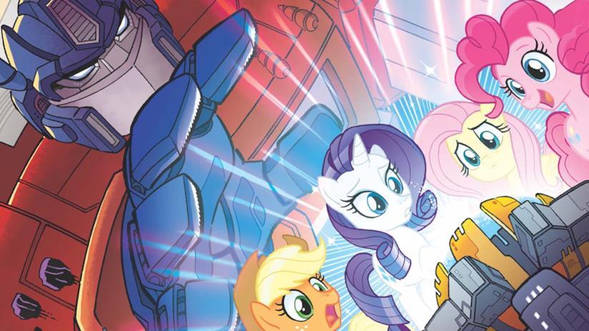 Transformers e My Little Pony, una tavola