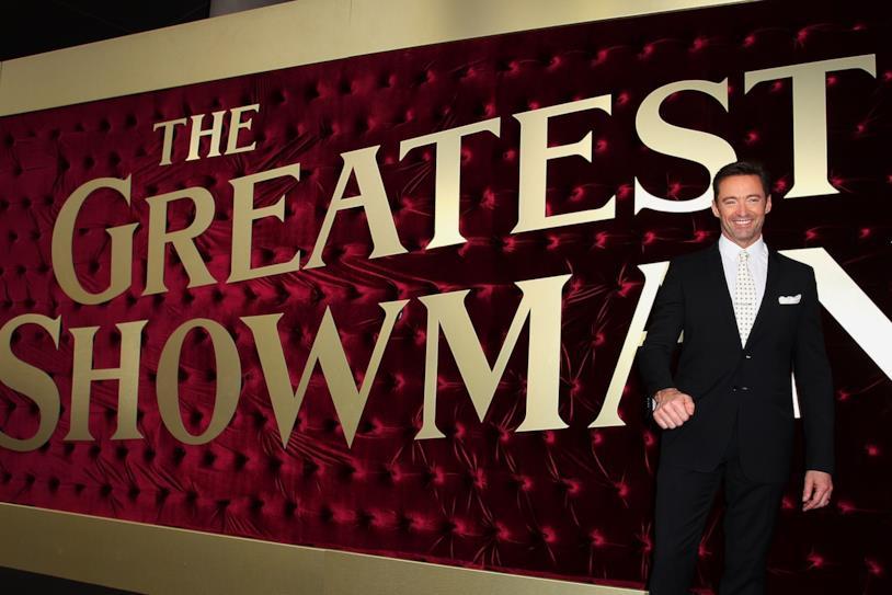 Hugh Jackman interpreta P.T. Barnum nel musical The Greatest Showman