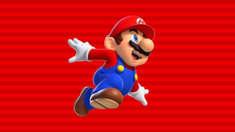 Mario in Super Mario Run per dispositivi mobile
