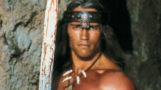 Conan Il Barbaro, Arnold Schwarzenegger