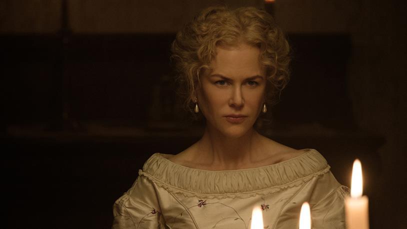 Nicole Kidman nel ruolo dell'istitutrice protagonista di L'Inganno di Sofia Coppola