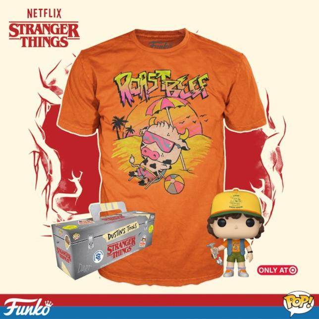 Stranger Things Dustin e t-shirt