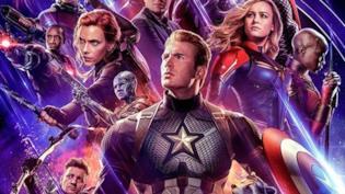 Un primo piano dei Vendicatori nel poster di Avengers: Endgame