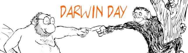 Il logo per il Darwin Day 2018 di UAAR