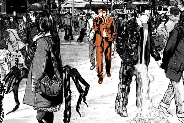 manga horror homunculus