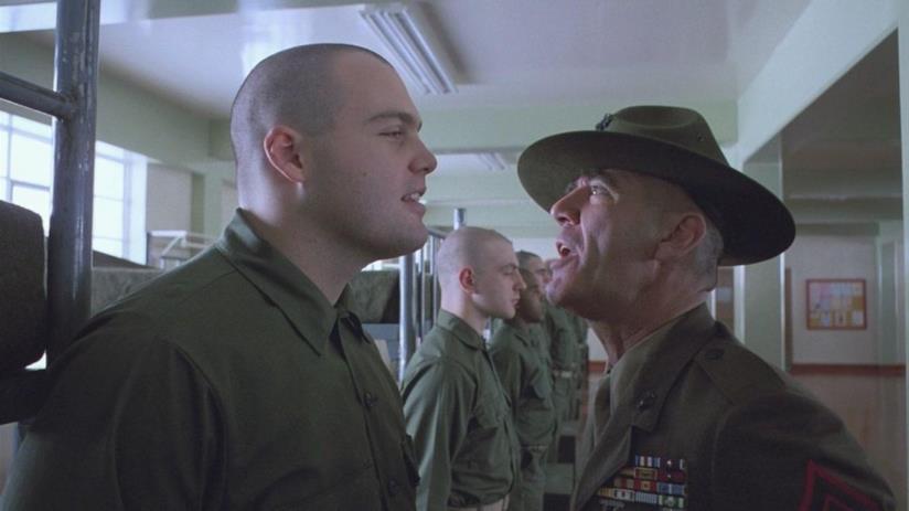 L'inflessibile sergente istruttore Hartman e Palla di Lardo