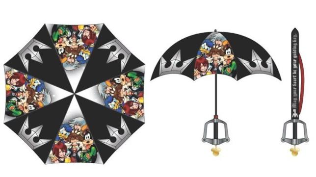 gadget ombrello Kingdom Hearts 3