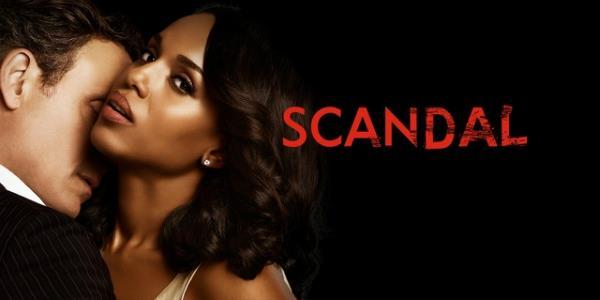 La locandina della quinta stagione di Scandal