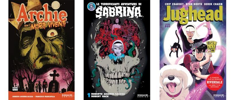 Archie tra i Morti Viventi #1, Sabrina #1 e Jughead #2