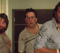 Alan, Stu e Phil in una scena di Una notte da leoni