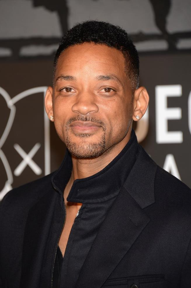 Primo piano di Will Smith
