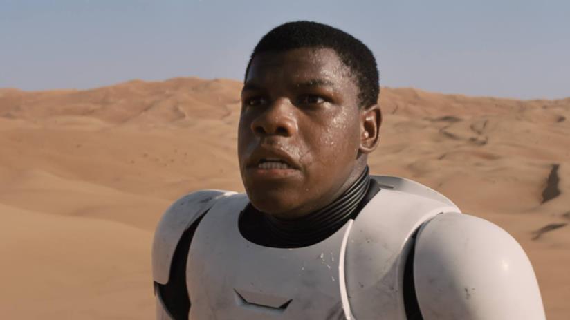 John Boyega, l'attore che interpreta Finn In Star Wars 7