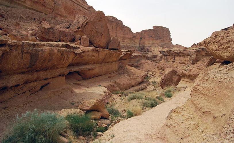Il canyon di Sidi Bouhlel