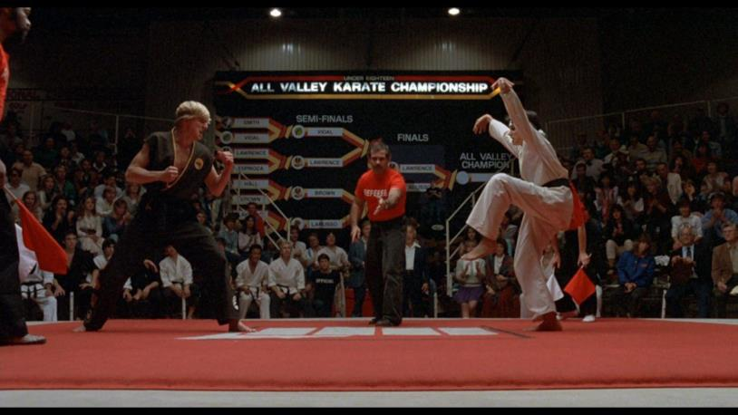 Una sequenza di Per vincere domani - The Karate Kid