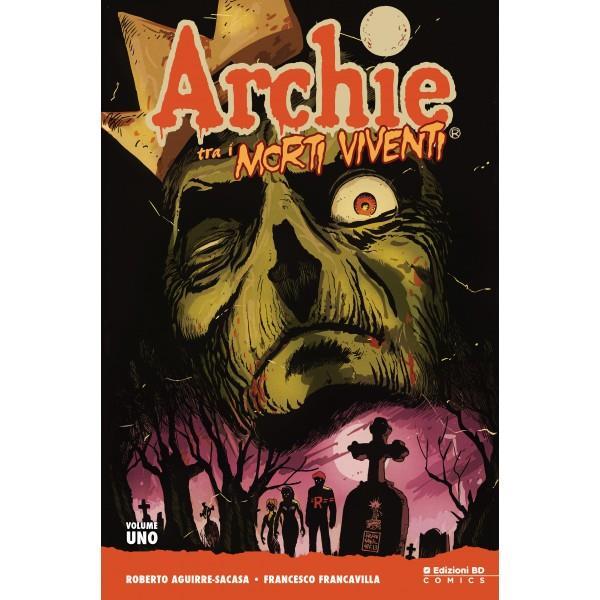 La copertina regular di Archie tra i Morti Viventi