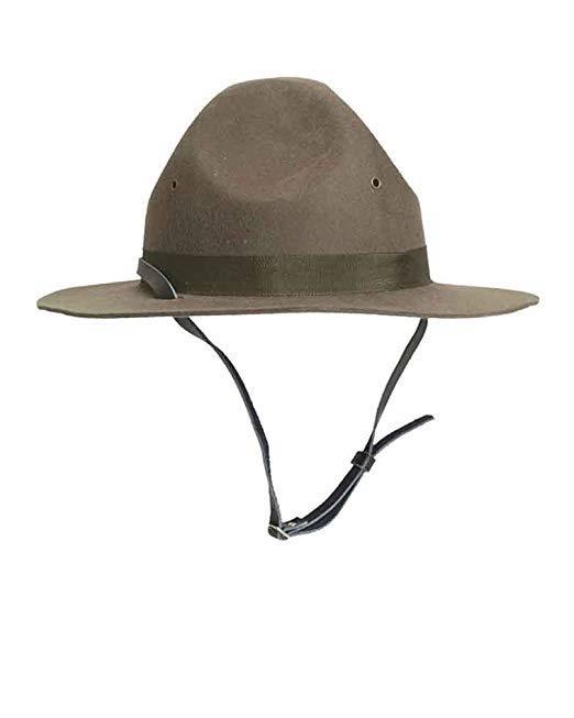 Il cappello ufficiale da sergente istruttore