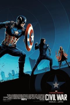 Tre Avenger alleati con Capitan America