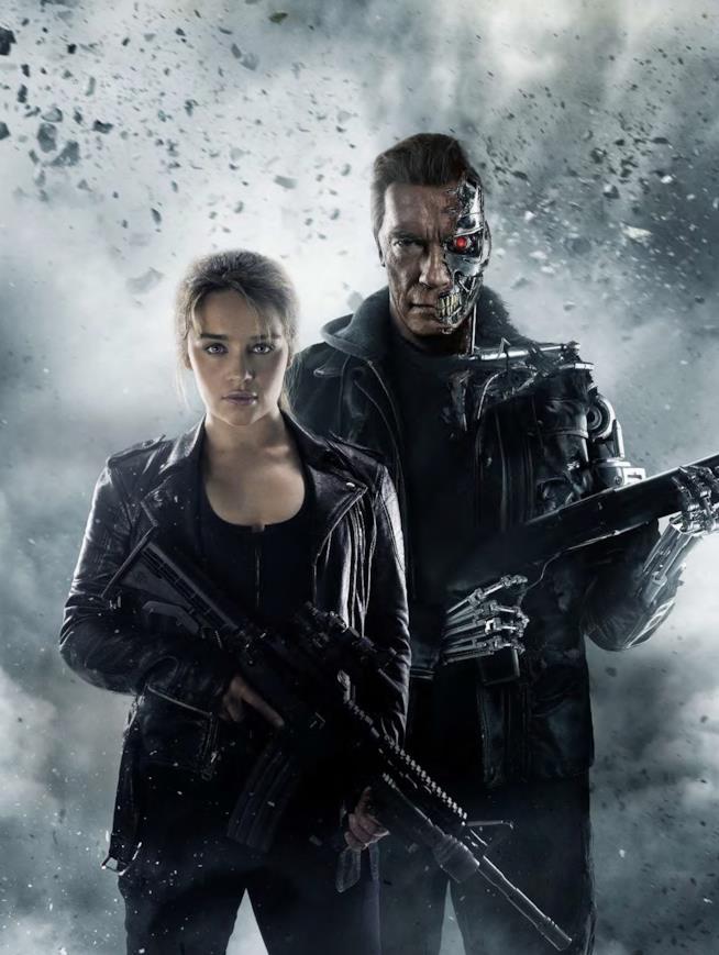 Arnold Schwarzenegger in Terminator Genesys