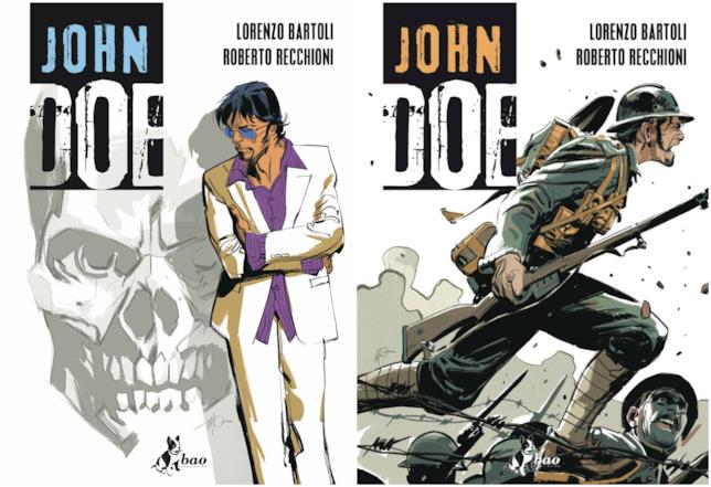 I primi due volumi della ristampa di John Doe