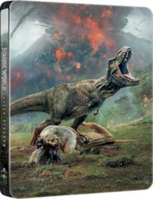 La steelbook da collezione di Jurassic World: Il regno distrutto