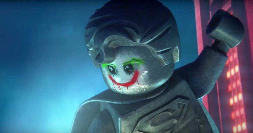 Joker in versione LEGO in LEGO DC Super-Villains