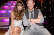 Lea Michele con Cory Monteith