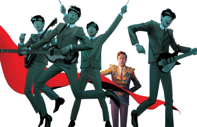 Immagine della copertina de Il Quinto Beatles